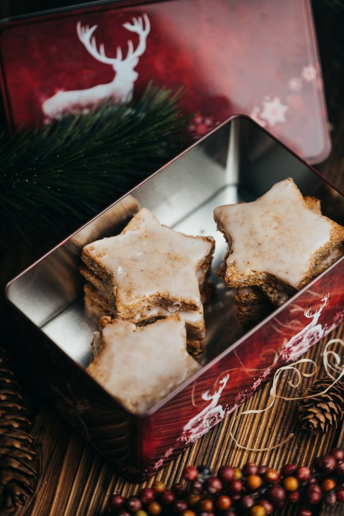 Zimtsterne vegan an Weihnachten