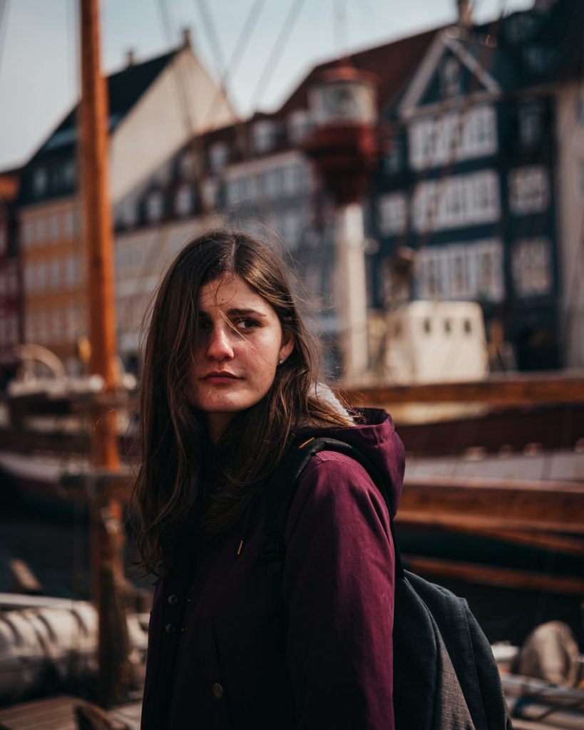 Portrait am Nyhavn
