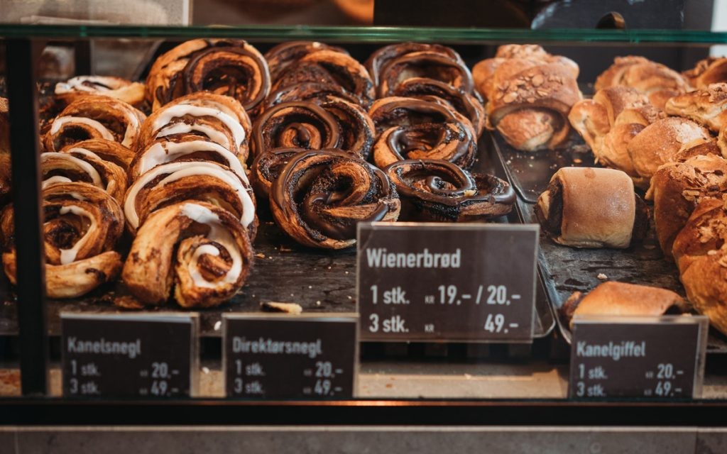 Bäckerei in Kopenhagen