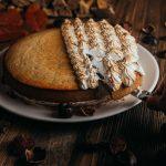 Marroni Cake mit Baiser Rezept