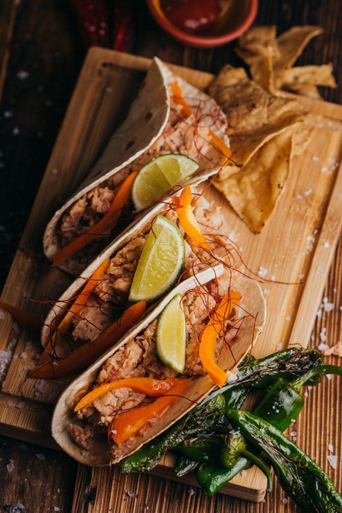 Vegane Tacos mit Jackfruit Rezept