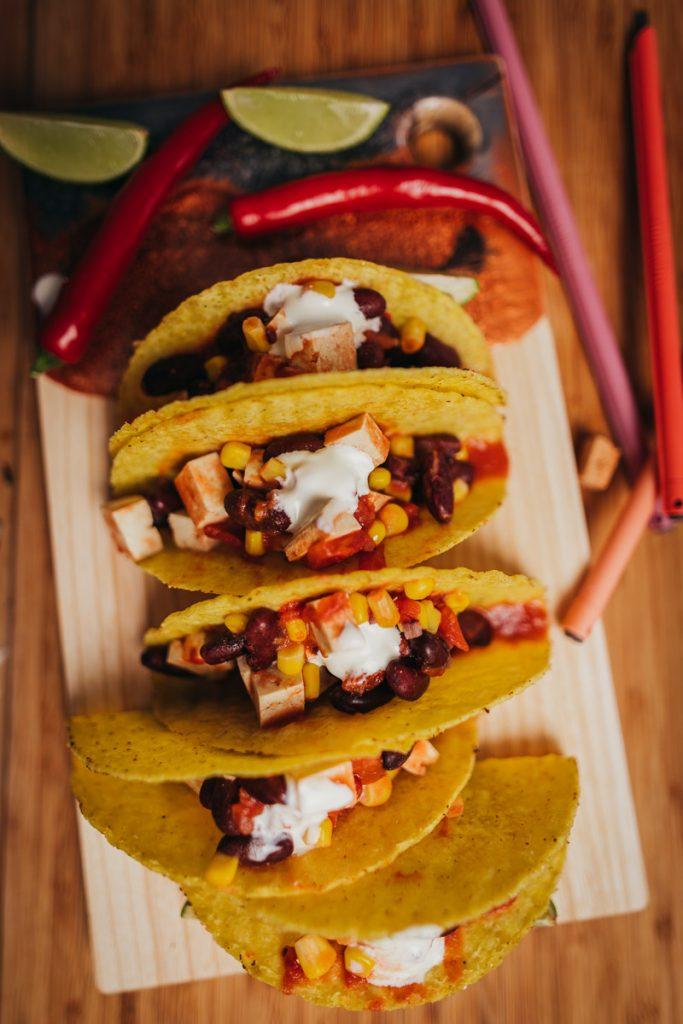 Tacos, vegan und immer Griffbereit.