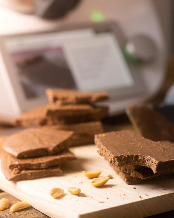 Erdnuss-Karamell-Schokolade