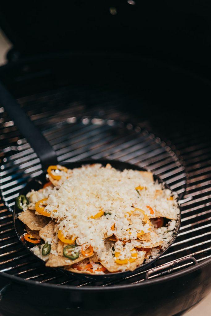 Nachos auf dem Grill