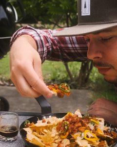 Nachos essen
