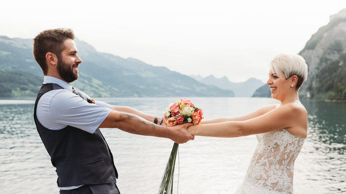 Hochzeitsfotografen suchen aus der Ostschweiz