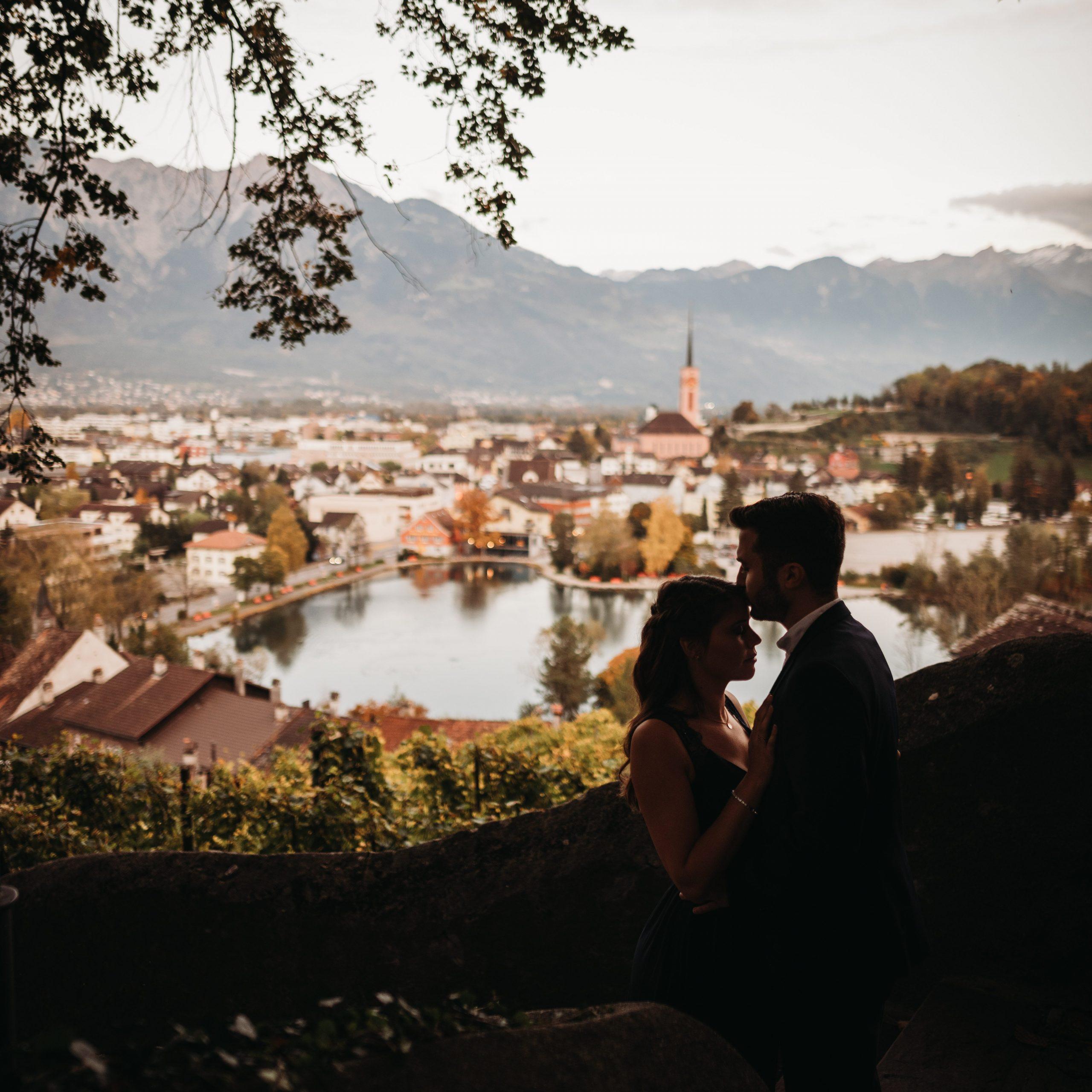 Perfekte Hochzeit im Schloss Werdenberg