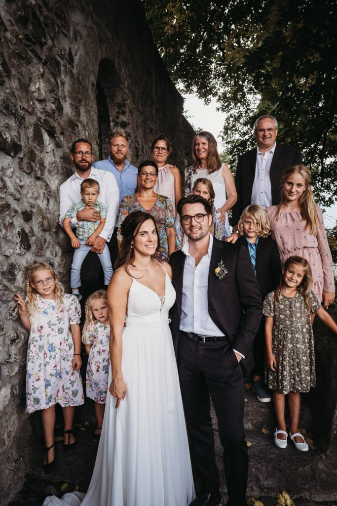 Hochzeitsfotograf Werdenberg Gruppenfoto